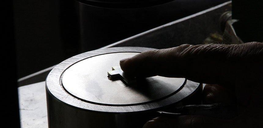 stampaggio gioielli in argento 925